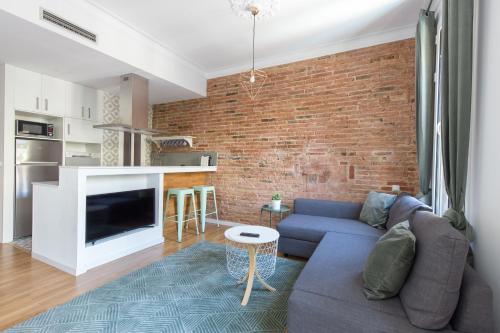 Modern Corner in Listed Building impression