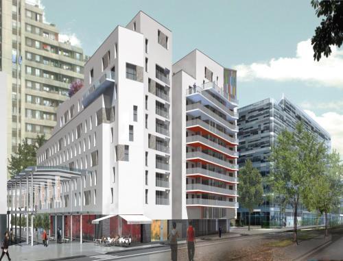 Lagrange apart hotel paris boulogne h tel 16 cours de l for Appart hotel boulogne billancourt