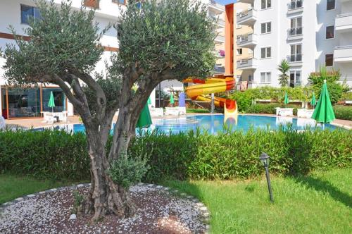 Alanya Luxury apartments in Mahmutlar adres