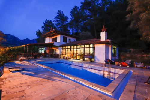 Mugla Sea View Mazgal Villa Orhaniye adres
