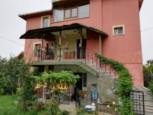 Trabzon Duplex Villa with Private Garden, City & Sea View in Akyazi Village harita
