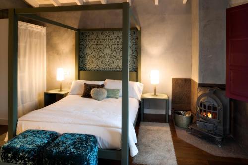 Comfort Doppelzimmer Casa Rural Etxegorri 9