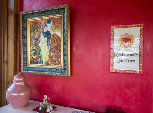 Doppel-/Zweibettzimmer mit Balkon und Meerblick Hotel Sindhura 11