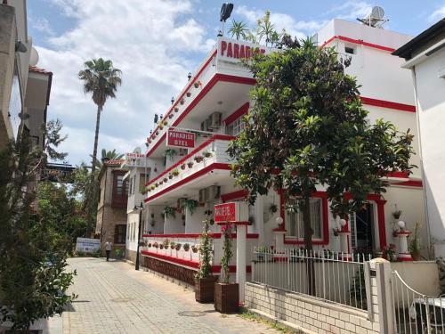 Antalya PARADİSE OTEL/CAFE&BAR harita