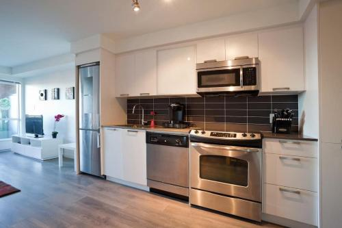One Bedroom Chinatown Condo With Parking #216 - Victoria, BC V8W 1R3