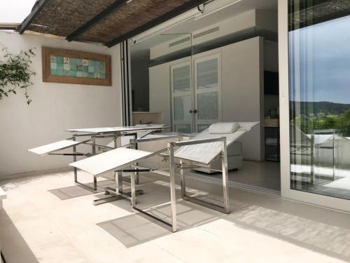 Habitación Doble Premium con jardín suspendido con vistas al mar Boutique Hotel Spa Calma Blanca 21