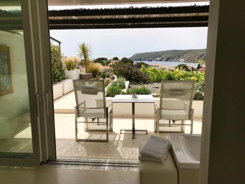 Habitación Doble Premium con jardín suspendido con vistas al mar Boutique Hotel Spa Calma Blanca 26