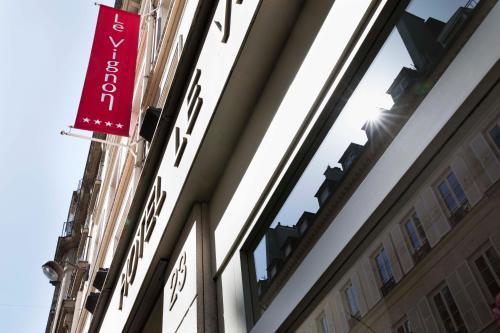 Hotel vignon 9th arrondissement op ra paris for Boutique hotel 9th arrondissement