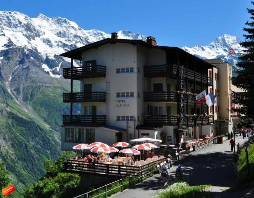 Hotel Alpina Wengen In Switzerland - Alpina hotel switzerland