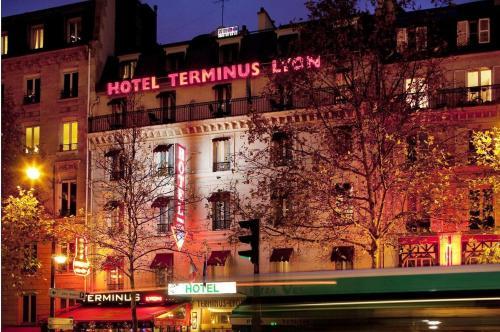 Hotel Terminus Lyon impression
