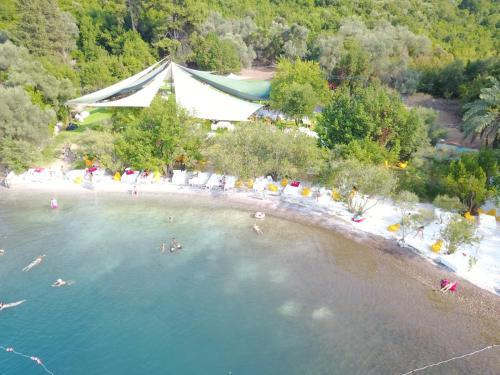 Marmaris Paradise Island Beach Camping tek gece fiyat