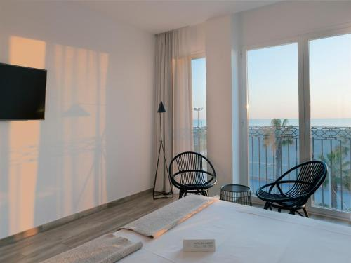 Double Room with Sea View - single occupancy Hotel Boutique Balandret 18