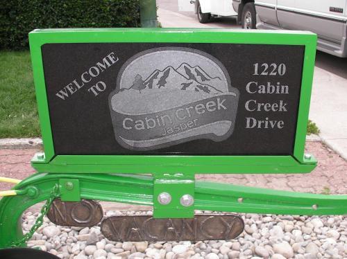 Schmidt's Cabin Creek Jasper