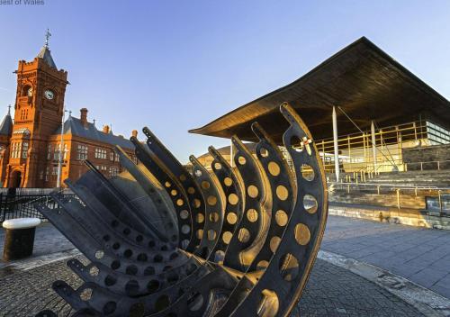 Glan yr Afon Cardiff Townhouse Foto 20