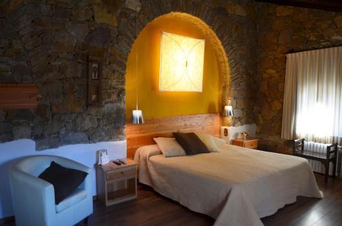 Habitación Doble Superior con terraza Hotel Galena Mas Comangau 34