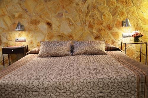 Habitación Doble Superior con terraza Hotel Galena Mas Comangau 37