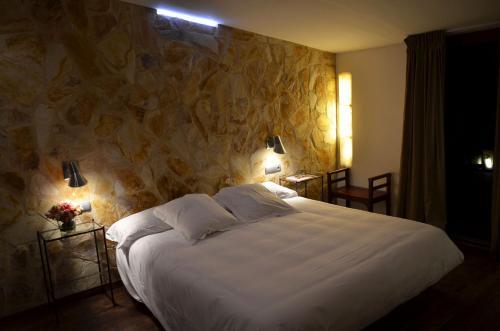 Habitación Doble Superior con terraza Hotel Galena Mas Comangau 21
