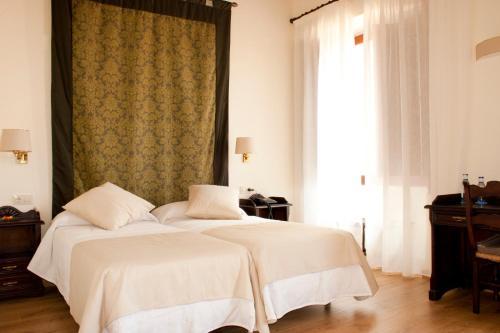 Habitación Doble - 1 o 2 camas - Uso individual Hotel Cardenal Ram 4