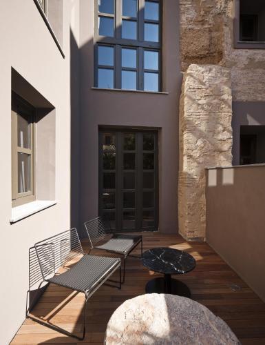 Habitación Doble Executive con terraza - 1 o 2 camas - Uso individual Caro Hotel 4