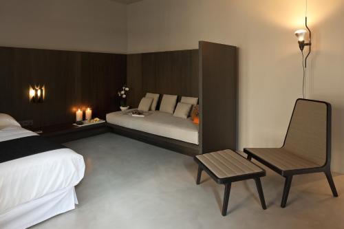 Habitación Doble Executive con terraza - 1 o 2 camas - Uso individual Caro Hotel 5