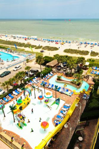 Sea Crest Oceanfront Resort 803 South Ocean Boulevard Myrtle Beach Sc Hotels Motels Mapquest