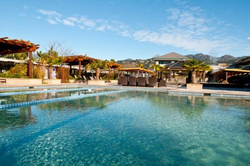 Calistoga Spa Hot Springs Photo