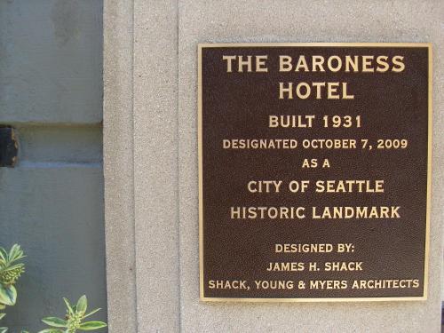 The Baroness Hotel - Seattle, WA 98104