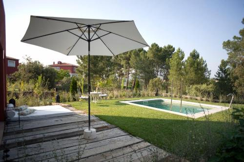 Suite deluxe with private pool  Hotel Boutique Pinar 117