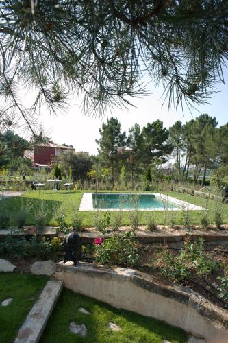 Suite deluxe with private pool  Hotel Boutique Pinar 75