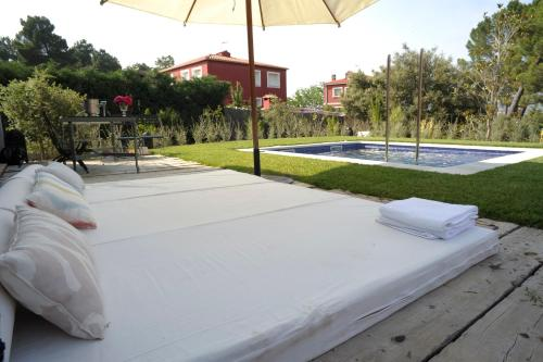 Suite deluxe with private pool  Hotel Boutique Pinar 125