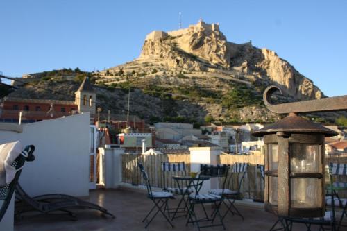 Apartamentos santa barbara guesthouse alicante rumbo - Apartamentos santa barbara ...