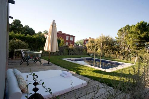 Suite deluxe with private pool  Hotel Boutique Pinar 108