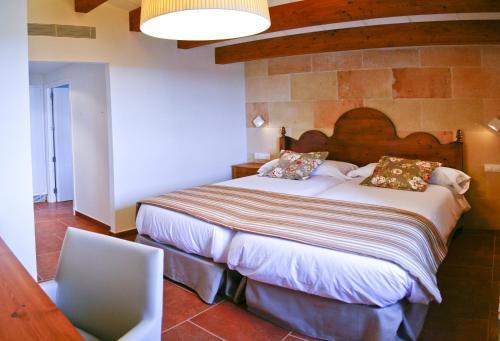 Habitación Doble - 2 camas - Uso individual Hotel Rural Binigaus Vell 10
