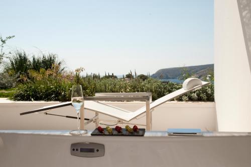 Habitación Doble Premium con jardín suspendido con vistas al mar Boutique Hotel Spa Calma Blanca 18
