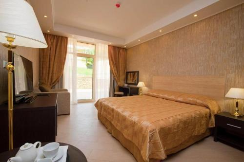 Аквамарин Отель и Спа Стандартный двухместный номер с 1 кроватью или 2 отдельными кроватями