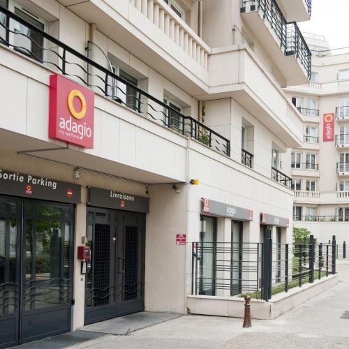 Aparthotel Adagio Porte de Versailles photo 22