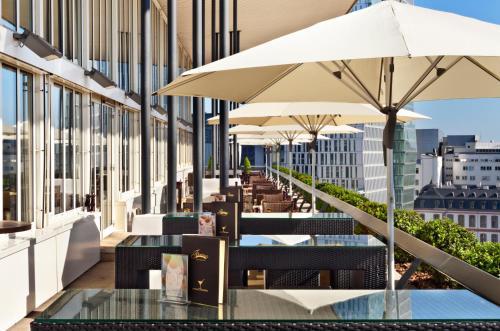 Fleming's Deluxe Hotel Frankfurt Main-Riverside, Lange Straße  5, 60311 Frankfurt am Main, Germany.