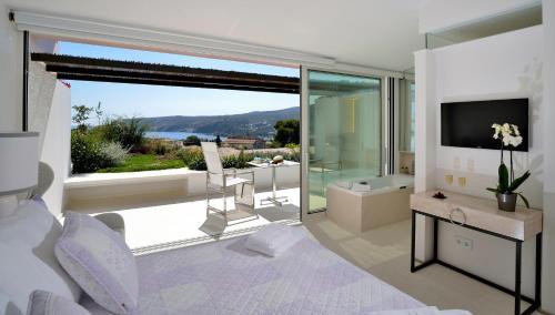 Habitación Doble Premium con jardín suspendido con vistas al mar Boutique Hotel Spa Calma Blanca 30