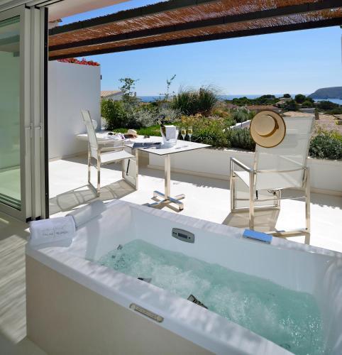 Habitación Doble Premium con jardín suspendido con vistas al mar Boutique Hotel Spa Calma Blanca 15