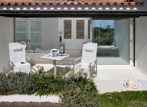 Habitación Doble Premium con jardín suspendido con vistas al mar Boutique Hotel Spa Calma Blanca 12