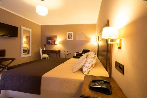 Double or Twin Room Single Use Hotel La Fonda 5