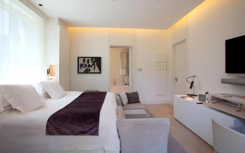 Doppelzimmer (1 oder 2 Personen) ABaC Restaurant Hotel Barcelona GL Monumento 4