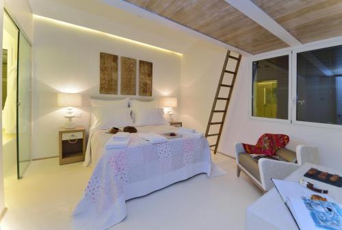 Habitación Doble Confort con bañera Boutique Hotel Spa Calma Blanca 7