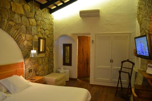 Double or Twin Room Hotel Galena Mas Comangau 16