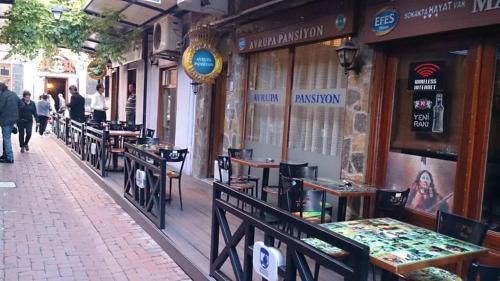 Canakkale Avrupa Pension ulaşım