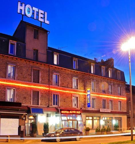Kyriad rodez h tel 38 avenue du mar chal joffre 12000 for Appart hotel kyriad