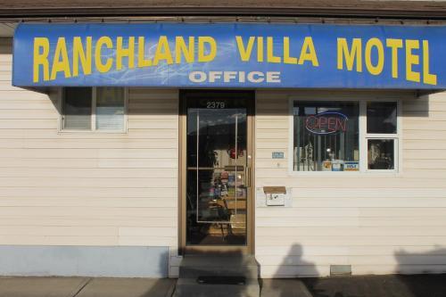 Ranchland Villa Motel - Merritt, BC V1K1B8