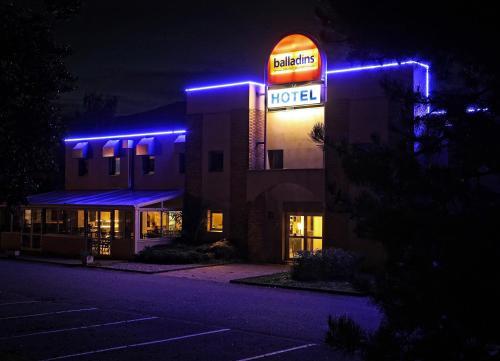 Hotel Restaurant Balladins Saint Genis Pouilly Carte