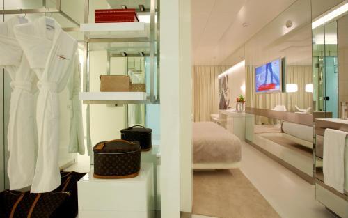Superior Doppelzimmer mit Terrasse The Mirror Barcelona 10