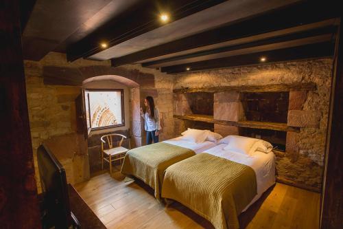 Zweibettzimmer - Einzelnutzung Hotel El Convento de Mave 3